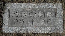 John G. Yeiter
