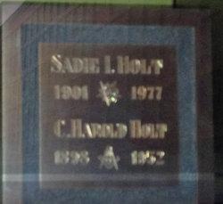 Sadie Irene <i>Potter</i> Holt