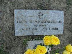 Ervan W Erv Mecklenburg, Jr