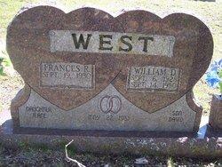 Frances Rheda <i>Wilson</i> West