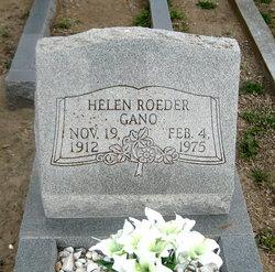 Helen <i>Roeder</i> Gano