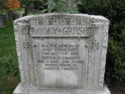 Mary E <i>Maloney</i> Grasett