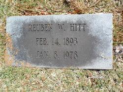 Reuben W Hitt