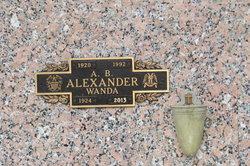 A B Alexander
