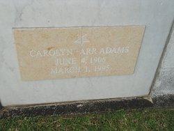Carolyn <i>Farr</i> Adams