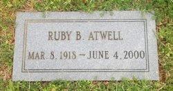 Ruby <i>Basham</i> Atwell