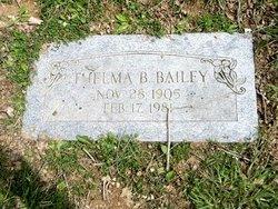 Thelma Blanche Bailey