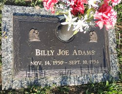 Billy Joe Adams