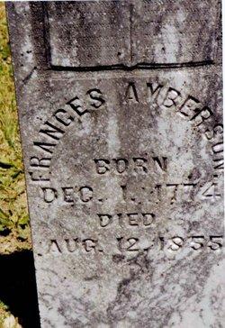 Frances M. Fannie <i>Stewart</i> Amberson