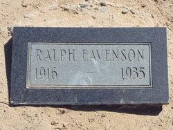 Ralph H Eavenson