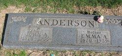 Emma Amanda <i>Johnson</i> Anderson