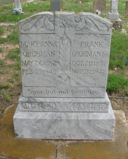 Frank A Grohman, Sr