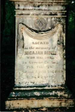 Micajah Bedell
