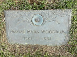 Maxine Myra Woodrum