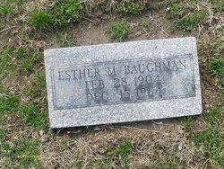 Esther M. Baughman