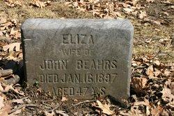 Elizabeth <i>Keller</i> Beahrs