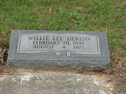 Willie Lee Deriso, Sr