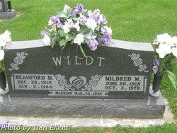 Mildred M Wildt