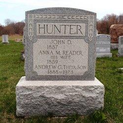 Anna M. <i>Reader</i> Hunter