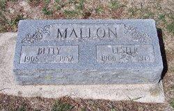 Elizabeth Emma Betty <i>Biegel</i> Mallon