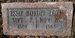 Essie <i>Boruff</i> Love