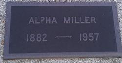 Alpha [Groves] <i>Baker</i> Miller