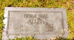 Dora Mae <i>Mackin</i> Allen