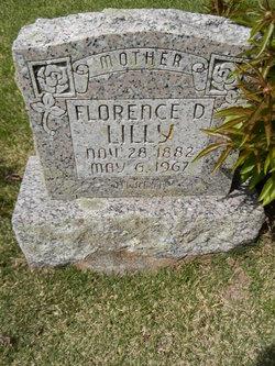 Florence D <i>Dennis</i> Lilly