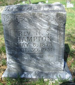 Rev Noah Sylvester Hampton