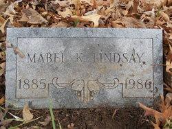 Mabel K. Lindsay