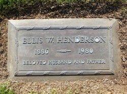 Ellis Wardell Henderson