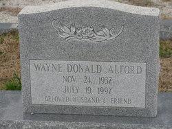 Wayne Donald Alford