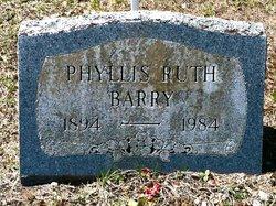 Phyllis Ruth Barry