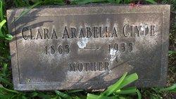 Clara Arabella <i>Carlisle</i> Clyde