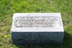 Pocahontas <i>Jackman</i> Page