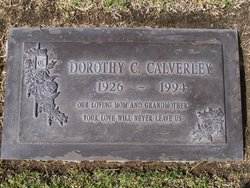 Dorothy Corrius <i>Chapman</i> Calverley