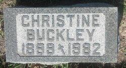 Christine B <i>Schwartz</i> Buckley