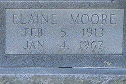 Elaine <i>Moore</i> Burroughs