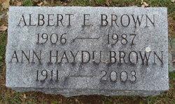 Albert E. Brown