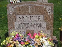 Dorothy V <i>Snyder</i> Bauer