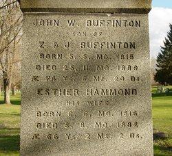 Esther <i>Hammond</i> Buffinton