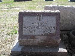 Mary Ann <i>Welsh</i> O'Bryan
