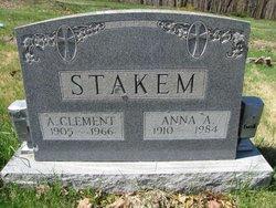 Anna Agnes <i>Urbas</i> Stakem