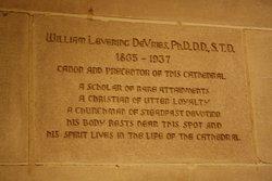 Rev William Levering DeVries