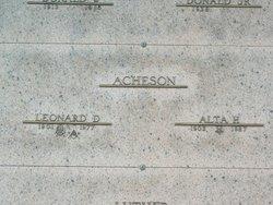 Alta Clara <i>Harris</i> Acheson