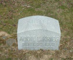 Addie E. Krieg