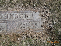 Walter Lawrence Johnson