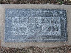 Archibald Archie Knox