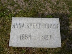 Anna <i>Speed</i> Brown