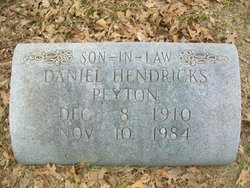 Daniel Hendricks Peyton